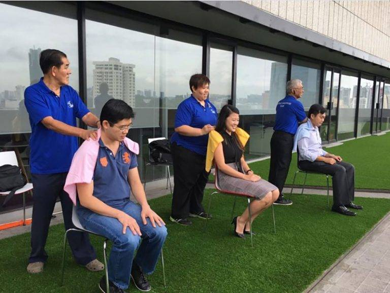 Singapore Association of the Visually Handicapped - Massage Fridays